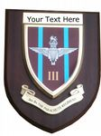 3rd Parachute Regiment Personalised Military Wall Plaque